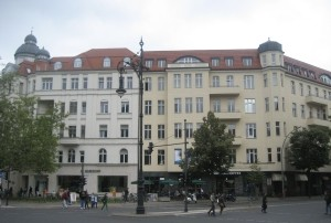 Die Kanzlei für Strafrecht in Berlin Charlottenburg - von außen.